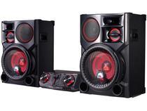Mini System LG Bluetooth USB MP3 CD Player - 2700W Karaokê CJ98