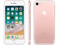 "iPhone 7 Apple 32GB Ouro Rosa 4G Tela 4.7"" Retina - Câm. 12MP + Selfie 7MP iOS 11 Proc. Chip A10"