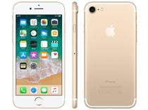 "iPhone 7 Apple 32GB Dourado 4G Tela 4.7"" Retina - Câm. 12MP + Selfie 7MP iOS 11 Proc. Chip A10"