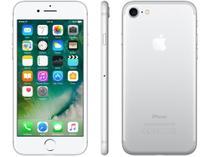 "iPhone 7 Apple 32GB Prateado 4G Tela 4.7"" Retina - Câm. 12MP + Selfie 7MP iOS 10 Proc. Chip A10"