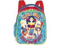 Lancheira Infantil Escolar Sestini 19X - DC Super Hero Girls