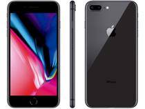 "iPhone 8 Plus Apple 256GB Cinza Espacial 4G - Tela 5,5"" Retina Câm. Dupla + Selfie 7MP iOS 12"