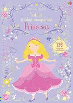 Livro - Princesas : Vestindo minhas amiguinhas -