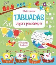 Livro - Tabuadas : Jogos e passatempos -