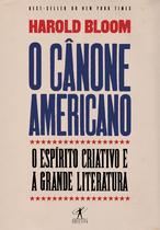 Livro - O cânone americano -
