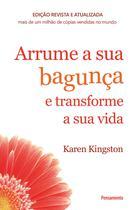 Livro - Arrume a sua bagunça e transforme a sua vida -
