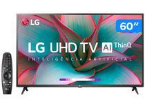 "Smart TV 4K LED 60"" LG 60UN7310PSA Wi-Fi Bluetooth - HDR Inteligência Artificial 3 HDMI 2 USB"