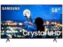 "Smart TV Crystal UDH 4K LED 58"" Samsung  - UN58TU7000GXZD Wi-Fi Bluetooth 2 HDMI 1 USB"