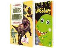 Kit Livros Dinossauro - O Formidável Atlas Júnior + Tiranossauro