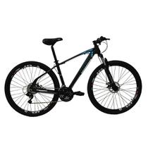 Bicicleta Aro 29ER 24 V Preto Azul - High One Revolution -