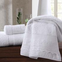 Toalha Banheiro Lavabo Renascença Fio Egípcio - Kit 2 Pçs - BRANCO - Buettner
