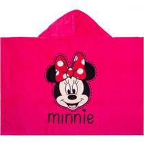 Toalha Banho Infantil Capuz Minnie Disney -