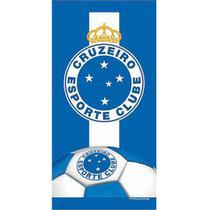 Toalha De Banho E Praia Time Aveludada Cruzeiro Mascote - Buettner