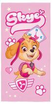 Toalha De Banho Infantil Aveludada Patrulha Canina Rosa Lepper -