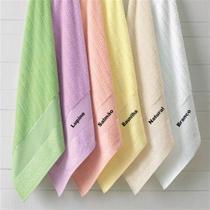Toalha de banho para bordar 0,67 x 1,40 irina - casa in by karsten -