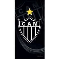 Toalha De Banho Veludo Atlético Mineiro  Brasão Oficial - Buettner