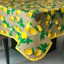 Toalha de Mesa em Gorgurinho Limão Siciliano -