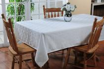 Toalha de mesa homus impermeável 1,80 redonda - niazitex -