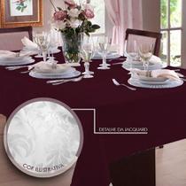 Toalha de mesa Jacquard 4 Lugares  Admirare -