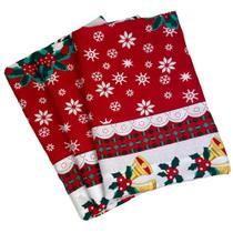 Toalha de Mesa Natal 4 Cadeiras - Cozzilar