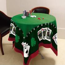 Toalha De Mesa Para Jogos Cartas Poker Truco Baralho Lepper -