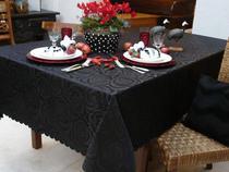 Toalha de Mesa Retangular Prática Rosas - Mehndi 160 x 220 cm