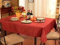 Toalha de Mesa Retangular Prática Rosas - Mehndi 160x220cm