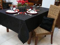 Toalha de Mesa Retangular Prática Rosas - Mehndi 160x270cm