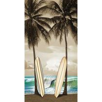 Toalha de Praia Aveludada Surf Board Prancha Buettner -