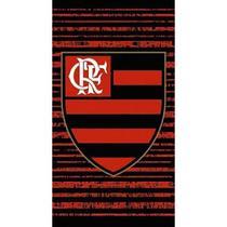 Toalha de Praia Flamengo Rubro Buettner  - Felpuda -