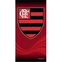Toalha de Time Buettner Veludo Estampado Flamengo -