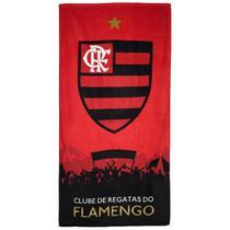 Toalha Flamengo Dohler Veludo Oficial - Döhler