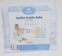 Toalha Fralda com Capuz - TexNew -