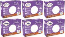 Toalha Fralda Cremer Luxo Branca - Kit Com 6 Caixas -