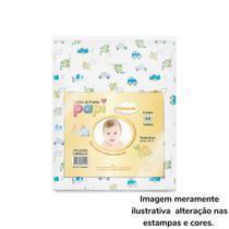 Toalha fralda Papi especial estampada 3 unidades 0718 - Chuca