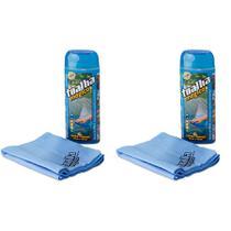 Toalha Mágica Fixxar Espuma Azul Kit 2 Unid - Vendasshop