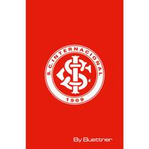 Toalha Social Buettner Veludo Estampado Internacional Vermelha -