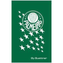 Toalha Social Buettner Veludo Estampado Palmeiras Verde -