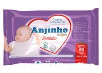 Toalha Umedecida Anjinho Confort Soninho c/ 50 unidades Parentex -