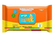 Toalha umedecida Natural Baby 100 unid. -