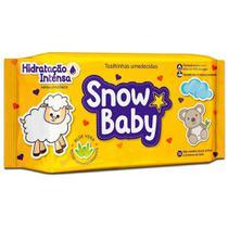 Toalha Umedecida Snow Baby Hidratação Intensa 140 Unidades -