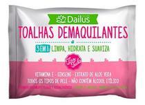 Toalhas Demaquilantes 3 Em 1 Tira Tudo 25 Unidades - Dailus - Dailus Color