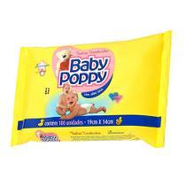 toalhas lenços umedecidos baby poppy premium mais encorpada para uso de toda a família 100 unidades - Ákua