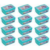 toalhas lenços umedecidos baby poppy premium super encorpada pote kit 12x100 (total 1200 toalhas) -