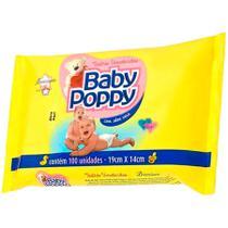 Toalhas Umedecidas Baby Poppy - C/ 100 Unidades - Shizen