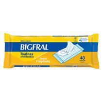Toalhas Umedecidas Bigfral Adulto 40 unidades - Hypermarcas