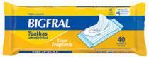 Toalhas Umedecidas Bigfral Adulto (Pct c/ 40 unds.) - Bigfral - Ontex