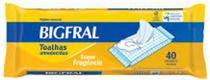 Toalhas Umedecidas Bigfral Adulto (Pct c/ 40 unds.) - Bigfral -