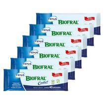 Toalhas umedecidas biofral adulto Hipoalergênica proteção e conforto no seu dia combo 6x40 unidades -