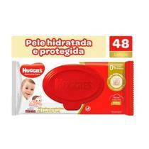 TOALHAS UMEDECIDAS HUGGIES SUPREME CARE - 48 unidades -